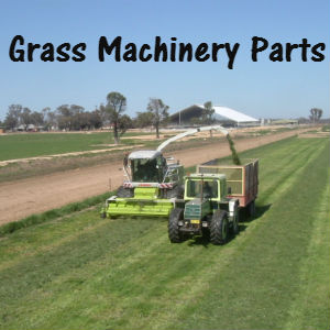 Grass machinery parts, hay bobs