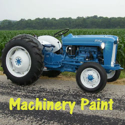 Machinery paint for tractors and machinery