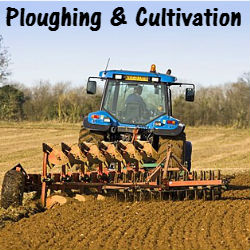 Ploughing and cultivation machinery parts