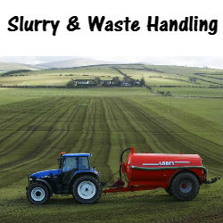 Slurry and waste handling replacement parts